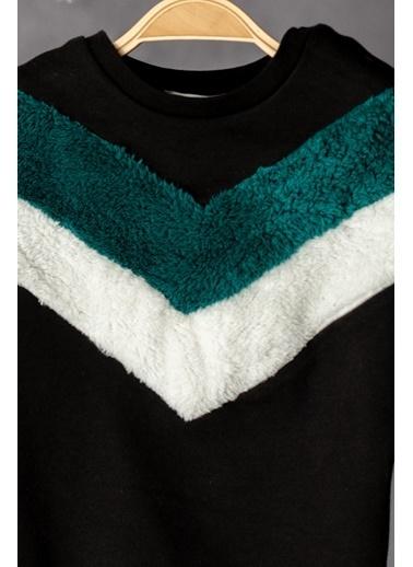 Zeyland Peluş Parçalı Sweatshirt (12ay-4yaş) Peluş Parçalı Sweatshirt (12ay-4yaş) Antrasit